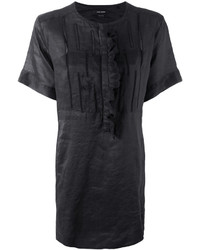 Isabel Marant Tonal Embroidered Short Dress