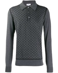 Brioni Embroidered Polo Shirt