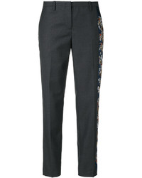 No.21 No21 Floral Embroidery Tailored Trousers