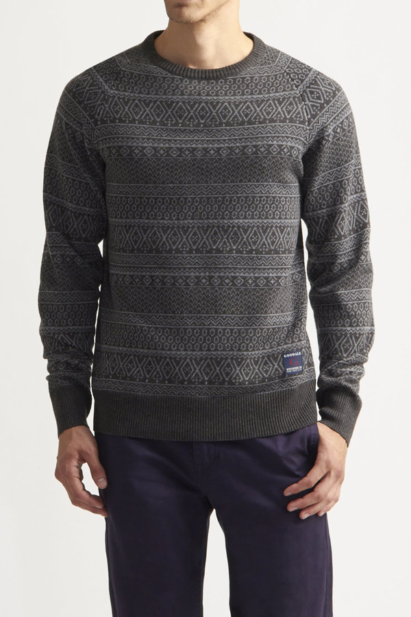 Goodale Copen Fair Isle Sweater | Where to buy & how to wear