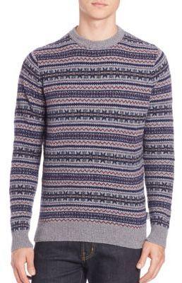 Barbour Harvard Fairisle Sweater | Where to buy & how to wear