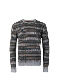 Altea Instarsia Knit Sweater