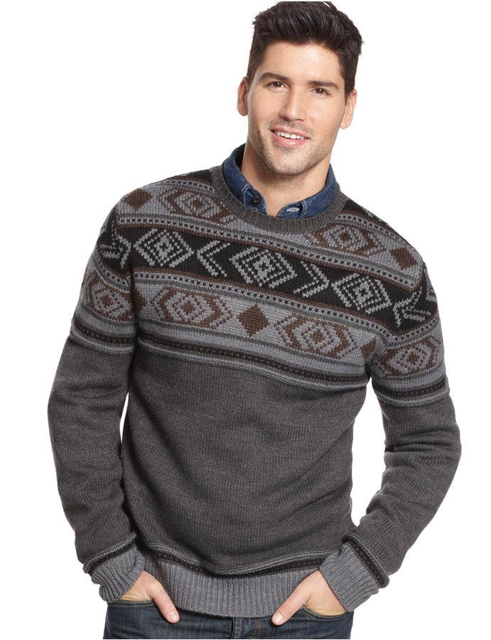 Weatherproof Vintage Fair Isle Sweater | Where to buy & how to wear