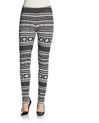 Fair isle leggings medium 123986