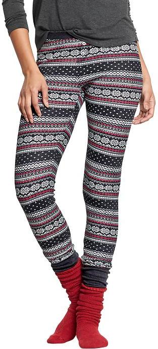 Old Navy Patterned Waffle Knit Pj Leggings | Where to buy & how to ...