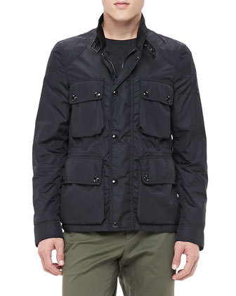 Belstaff Lightweight Field Jacket Black | Where to buy & how to wear