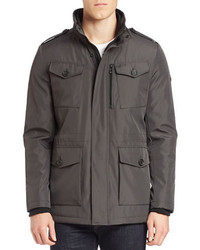 Calvin Klein Water Resistant Military Jacket