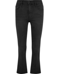 Le crop mini mid rise bootcut jeans anthracite medium 3715704
