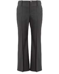 Balenciaga Kick Flare Stretch Wool Trousers