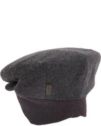 Borsalino Flannel Ivy Cap