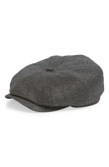 6276b903e7cf ... Ted Baker London Herringbone Baker Boy Hat