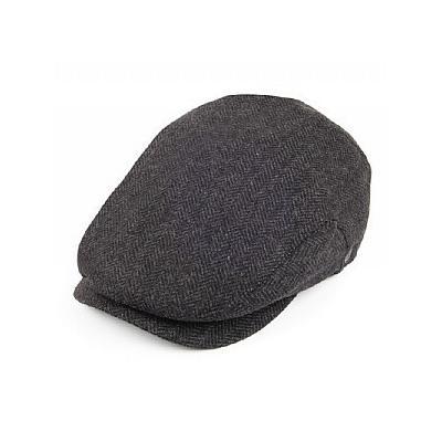 4026f0d3ec37f0 ... Wholesale Hats Jaxon Hats Extended Bill Flat Cap Charcoal Wholesale