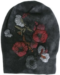 Floral ribbed beanie medium 923030
