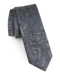 The Tie Bar Ritz Floral Silk Tie