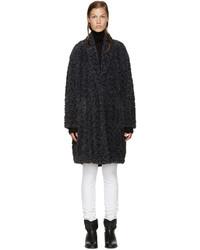 Etoile Isabel Marant Isabel Marant Etoile Grey Adams Coat