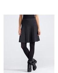 Charcoal Full Skirt