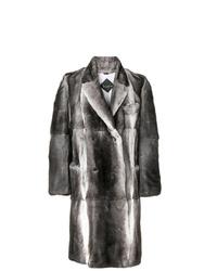 Billionaire Double Breasted Fur Coat