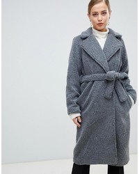 French Connection Longline Teddy Fur Coat