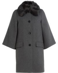 Steffen Schraut Coat With Fur Collar