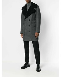 DSQUARED2 Double Breasted Fitted Coat