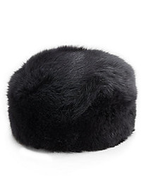 Saks fifth avenue fox fur bubble hat medium 181628