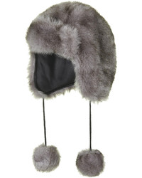 abdb88da Charcoal Fur Hats for Women | Women's Fashion | Lookastic.com