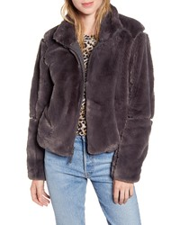 Patagonia Lunar Frost Faux Fur Jacket