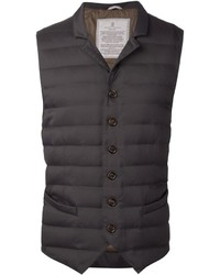 Brunello Cucinelli Padded Buttoned Gilet
