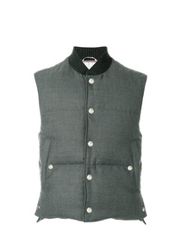 Thom Browne Center Back Engineered Stripe Down D Vest