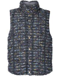 Tweed down gilet medium 5054128