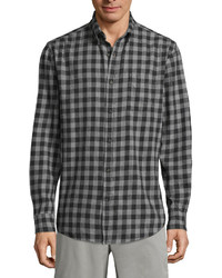 St Johns Bay St Johns Bay Long Sleeve Flannel Shirt