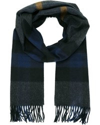 Burberry Check Print Scarf