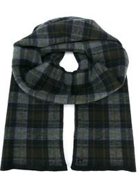 Plaid check scarf medium 335431