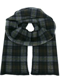Z Zegna Plaid Check Scarf