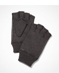 Express Fingerless Leather Accent Gloves