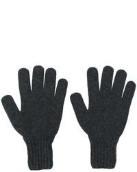 Drumohr Gloves With Ribbed Cuffs
