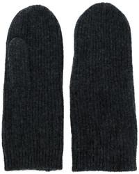 Isabel Marant Ribbed Cashmere Gloves