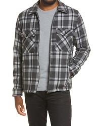 BLANKNYC Plaid Shirt Jacket