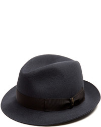 Borsalino Brushed Felt Trilby Hat