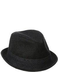 Levi's Wool Fedora With Corduroy Hatband