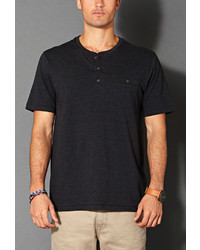 21men 21 Cotton Blend Henley