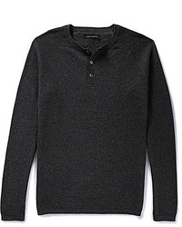 Vince Camuto Cotton Cashmere Henley Shirt