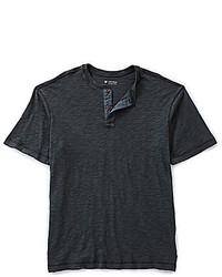 Cremieux Short Sleeve Henley Shirt
