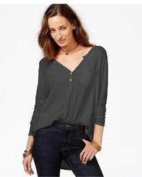 Free People Frontier Long Sleeve Henley