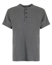 rag & bone Henley Short Sleeve Cotton T Shirt