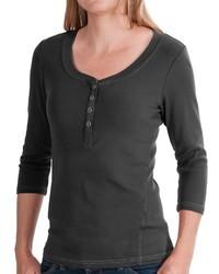 Royal Robbins Kickback Micro Rib Henley Shirt Upf 50 34 Sleeve