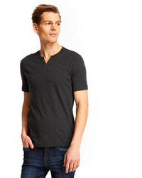 Kenneth Cole New York Speckled Henley T Shirt