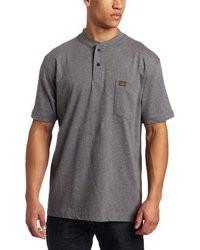 Wrangler Riggs Workwear Short Sleeve Henley Tee