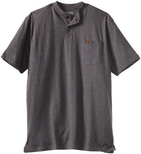 Wrangler Riggs Workwear Tall Short Sleeve Henley Tee