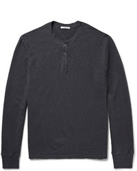 James Perse Supima Cotton Henley T Shirt